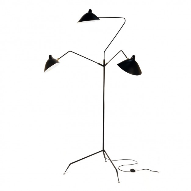 lamp designed by Serge Mouille